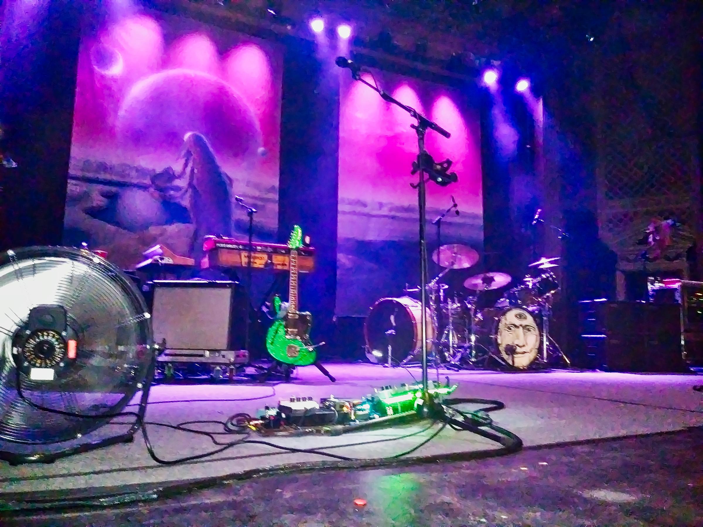 The Delirium's stage